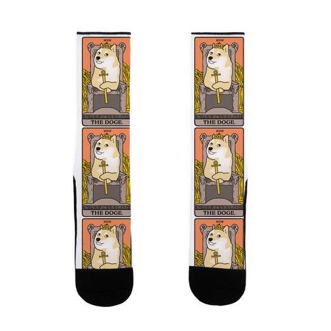 The Doge Tarot Parody Sock