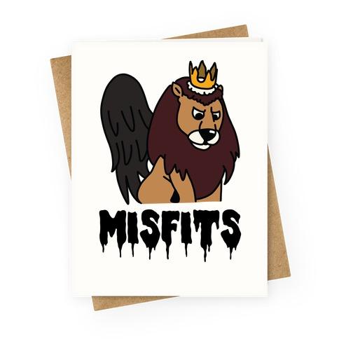 Misfits Moonracer Greeting Card