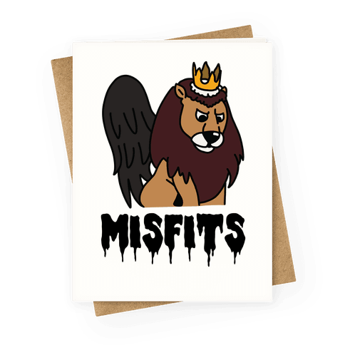 Misfits Moonracer Greeting Card