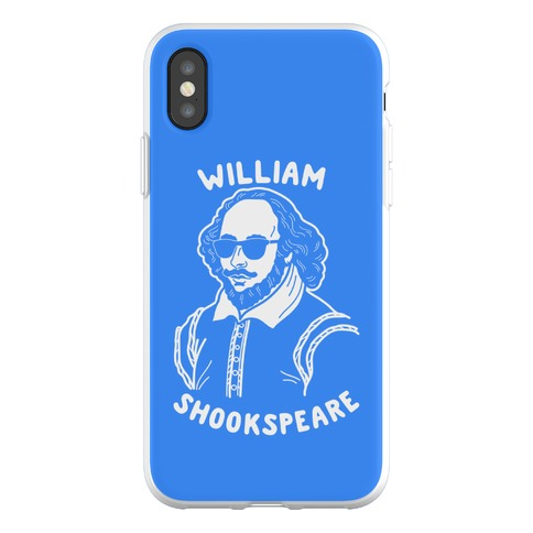 William Shookspeare Phone Flexi-Case
