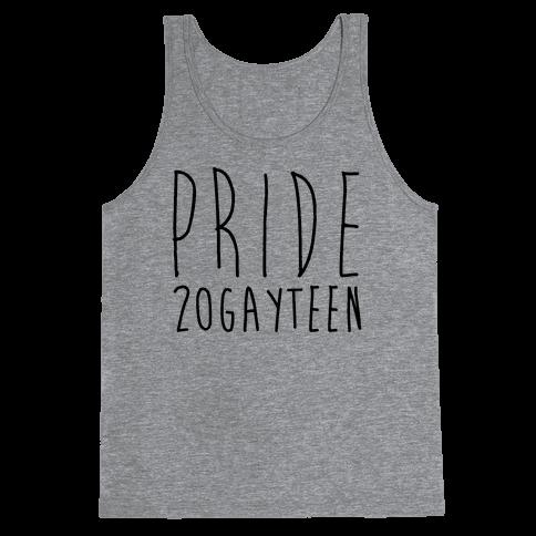 Pride 20gayteen  Tank Top