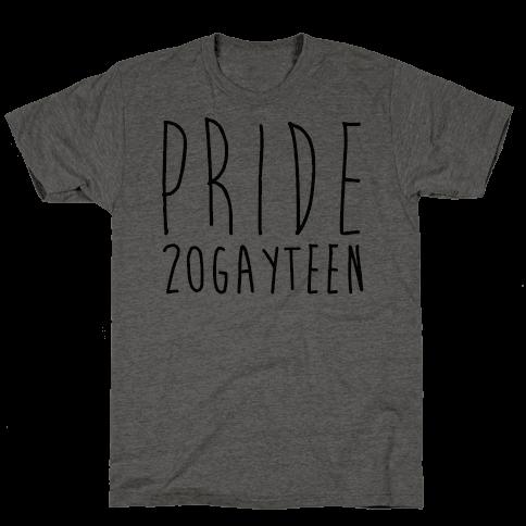 Pride 20gayteen  Mens T-Shirt