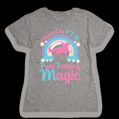 Powered by PFM Womens T-Shirt