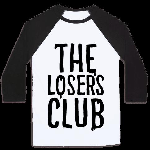 The Losers Club Parody Baseball Tee