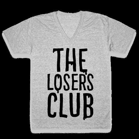 The Losers Club Parody V-Neck Tee Shirt