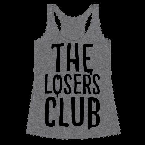 The Losers Club Parody Racerback Tank Top