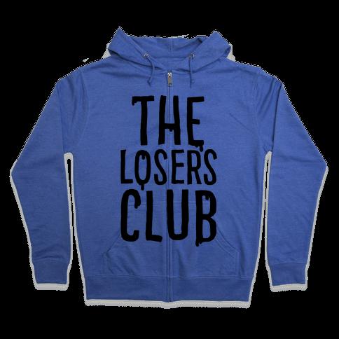 The Losers Club Parody Zip Hoodie