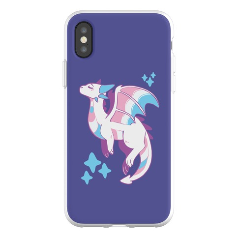 Trans Pride Dragon Phone Flexi-Case