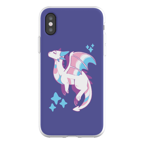 Trans Pride Dragon Phone Flexi-Case