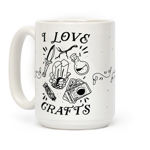 I Love (Witch) Crafts Coffee Mug
