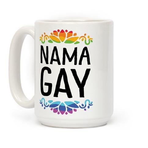 NamaGay Namaste Coffee Mug