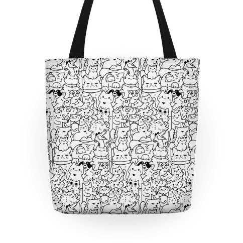 CATS CATS CATS! Tote