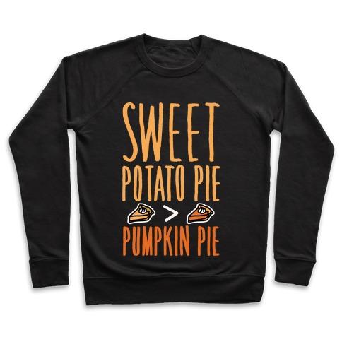 Sweet Potato Pie > Pumpkin Pie White Print Pullover