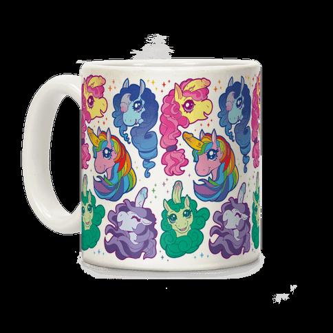 Unicorn Penis Pattern Coffee Mug
