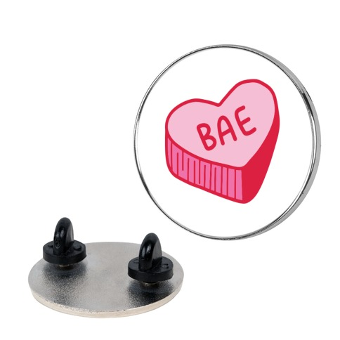 Bae Conversation Heart Pin