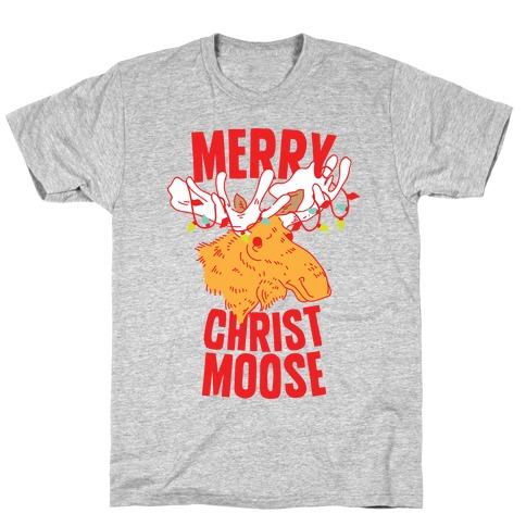 Merry Christ-Moose T-Shirt