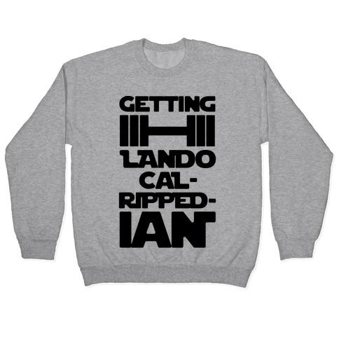 Getting Lando Cal-Ripped-ian Parody Pullover