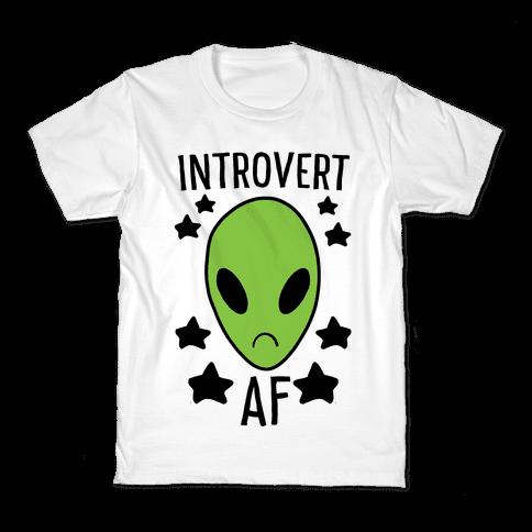 Introvert AF Kids T-Shirt