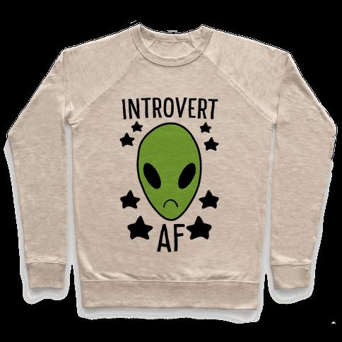 Introvert AF Pullover