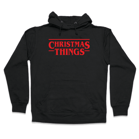 Christmas Things Hooded Sweatshirt