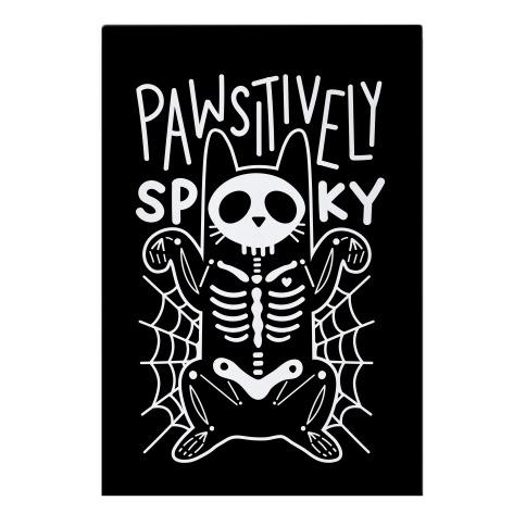 Pawsitively Spooky Garden Flag