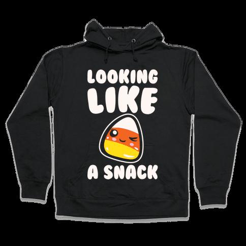 Looking Like A Snack Candy Corn  Hooded Sweatshirt
