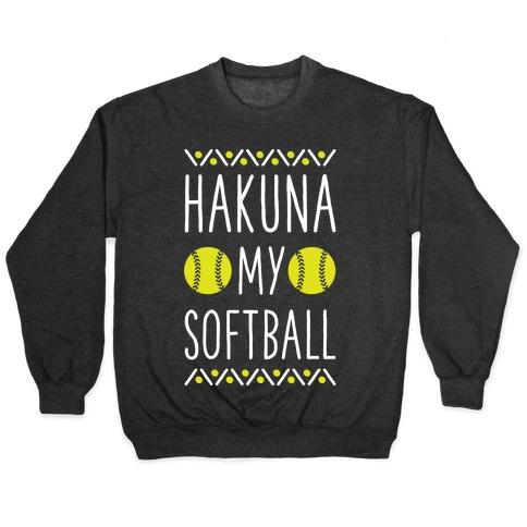 Hakuna My Softball Pullover
