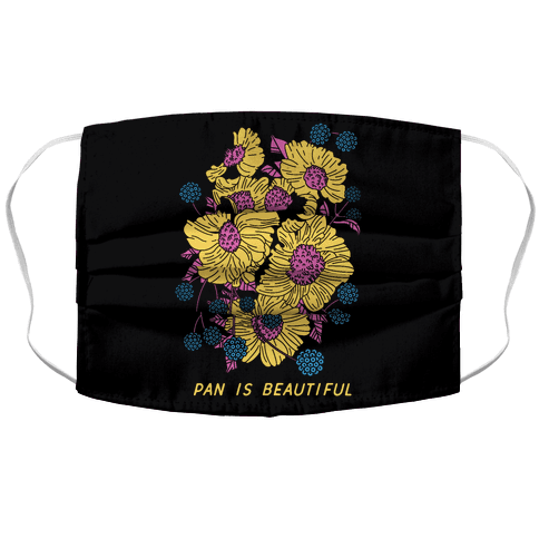 Pan is beautiful Face Mask Cover