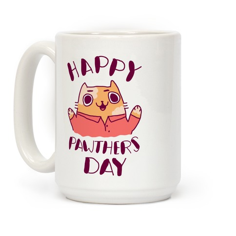 Happy Pawther's Day Coffee Mug