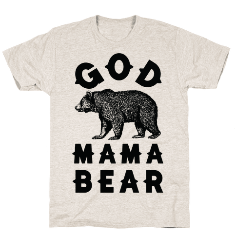 God Mama Bear Mens T-Shirt
