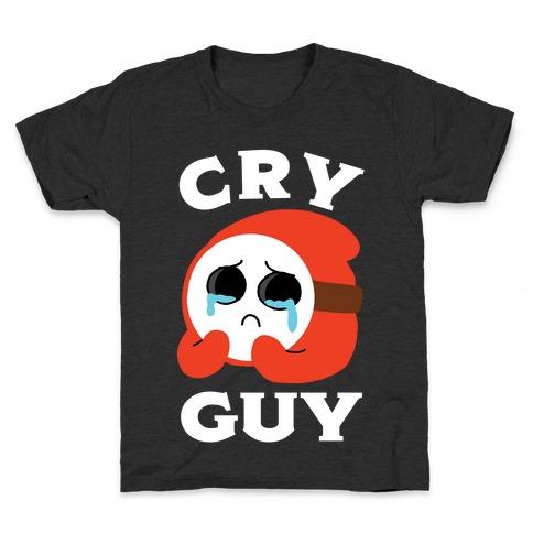 Cry Guy Kids T-Shirt