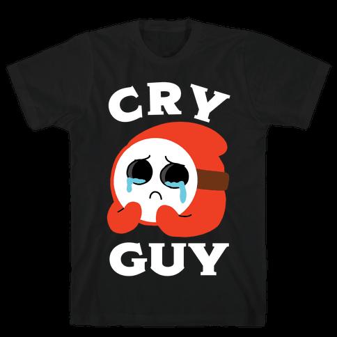 Cry Guy Mens/Unisex T-Shirt