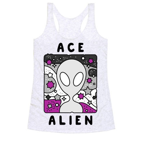 Ace Alien Racerback Tank Top