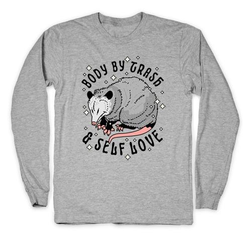 Body By Trash And Self Love Possum Long Sleeve T-Shirt