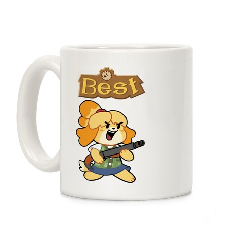 Best Friends (Both Doomguy and Isabelle) Coffee Mug