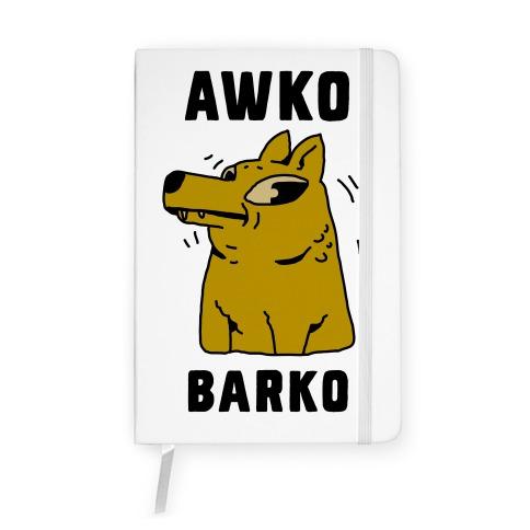 Awko Barko Notebook