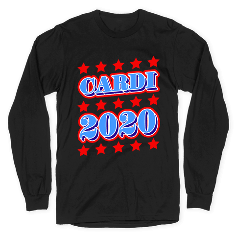 Cardi 2020 Long Sleeve T-Shirt