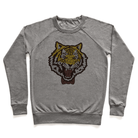 Tiger in a Bow Tie Pullover