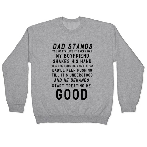 Badlands Dad Parody Pullover