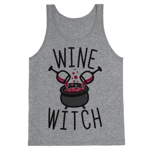 Wine Witch Tank Top