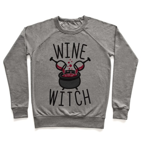 Wine Witch Pullover