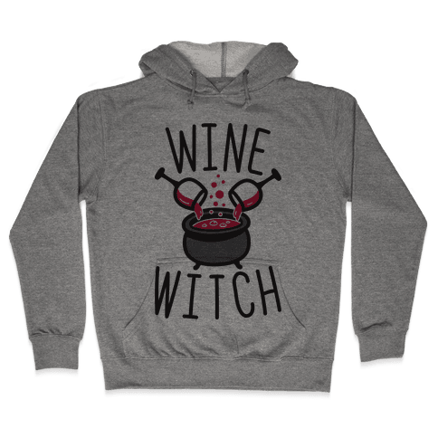 Wine Witch Hooded Sweatshirt