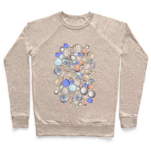 Planets Pattern Pullover