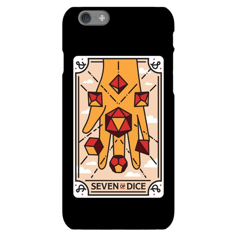 Seven of Dice - D&D Tarot Phone Case