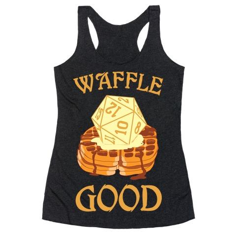 Waffle Good Racerback Tank Top