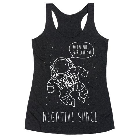 NEgative Space Racerback Tank Top