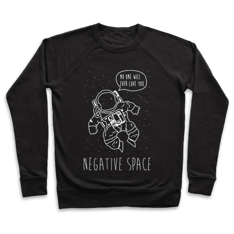 NEgative Space Pullover