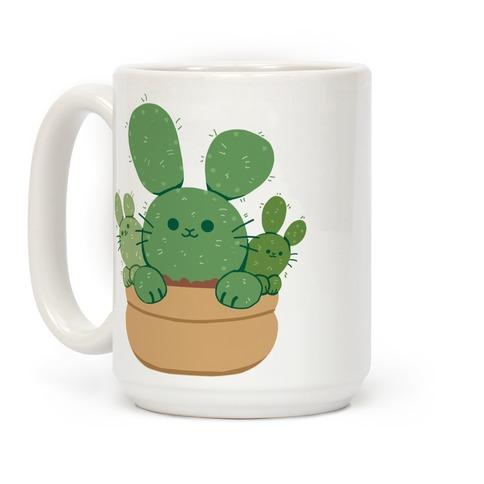 Bunny Ear Cactus Coffee Mug