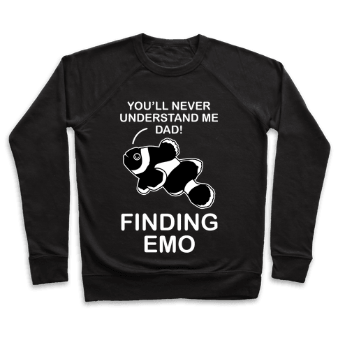 Finding Emo Pullover