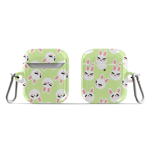 BunBun Pattern Green AirPod Case
